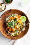Instant Pot Cauliflower and Butternut Thai Curry